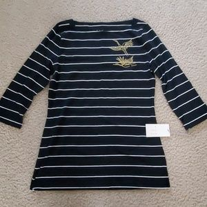 NWT A NEW DAY Striped Top